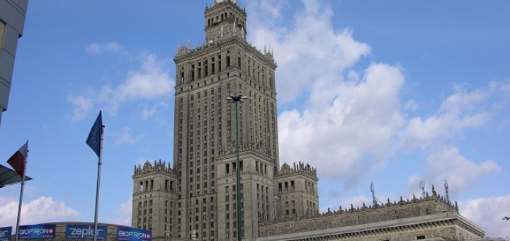 Pałac Kultury i Nauki bez reklam