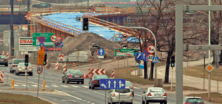 Remont mostu Łazienkowskiego