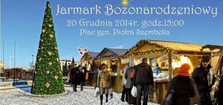 Jarmark Bożonarodzeniowy na pl. Szembeka