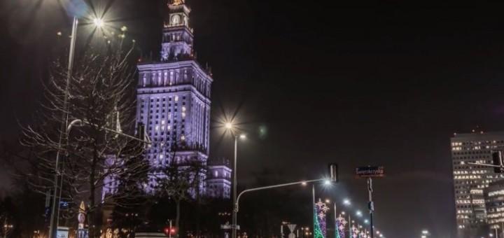 Oto jak prezentuje się świąteczna Warszawa.