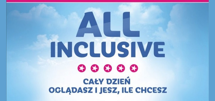 All Inclusive w Multikinie - pierwsza oferta 'jesz i oglądasz ile chcesz' w Polsce