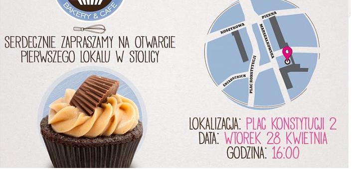 Otwarcie pierwszego Cupcake Corner Bakery w Warszawie!