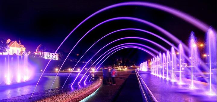 Premierowy pokaz świateł na Podzamczu 2015