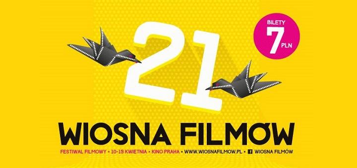 """21. Festiwal Filmowy """"Wiosna FIlmów"""" w kinie Praha"""