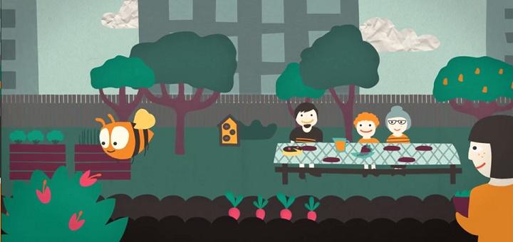 Piknik na otwarcie ogrodu Motyka i Słońce