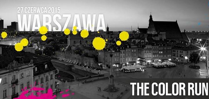 The Color Run by PZU w Warszawie