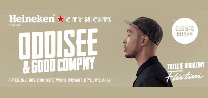 Heineken City Nights: Oddisee & Good Company i III urodziny Flirtini