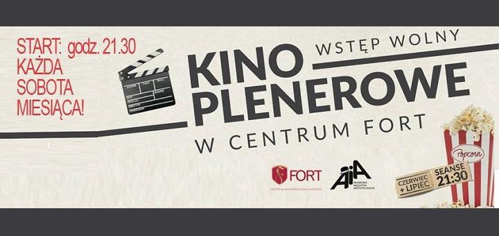 Kino plenerowe w Centrum Fort