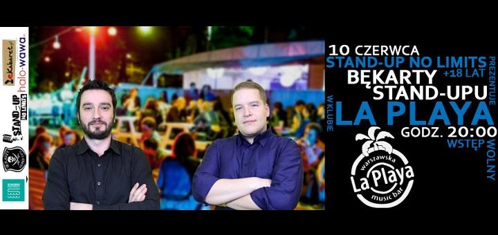 Stand-up No Limits prezentuje: Bękarty Stand-upu w klubie La Playa