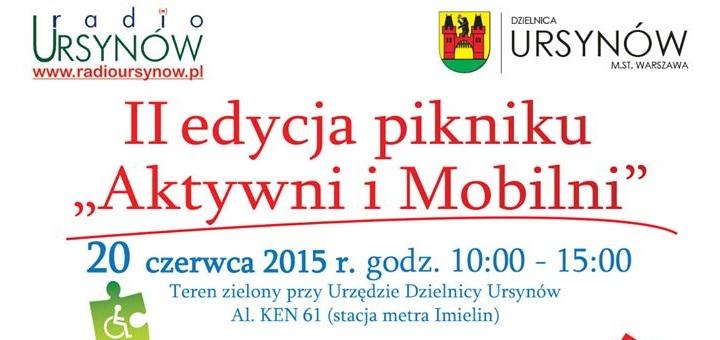 """II edycja pikniku """"Aktywni i Mobilni"""""""