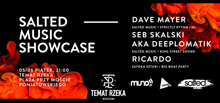 Temat Rzeka - Salted Music Showcase / Dave Mayer (NL)