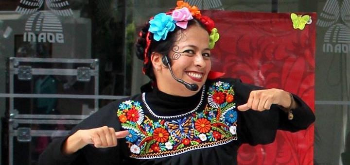 Gali Pun Cata Pun Plas Plas - opowiadaczka z Meksyku