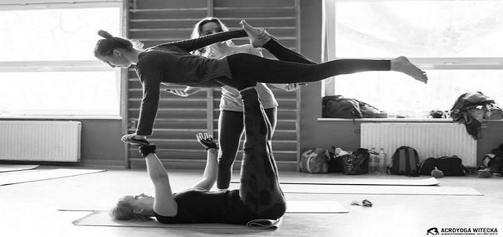 Gimnastyka, joga i tajski masaż czyli Acroyoga dla każdego
