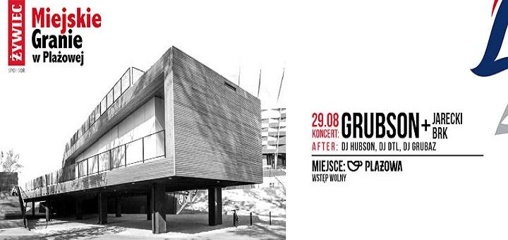 Żywiec Miejskie Granie: Grubson, Jarecki & BRK