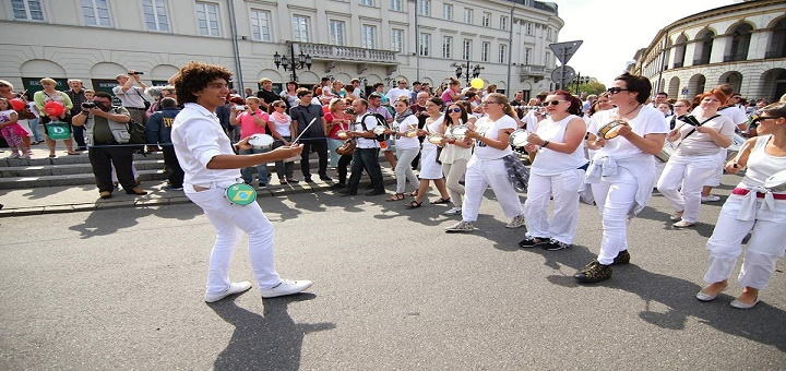 Wielka Batucada Wielokulturowego Warszawskiego Street Party 2015!