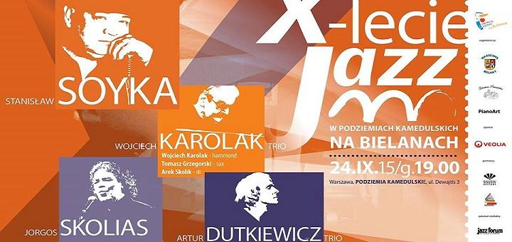 X - lecie Jazzu w Podziemiach Kamedulskich