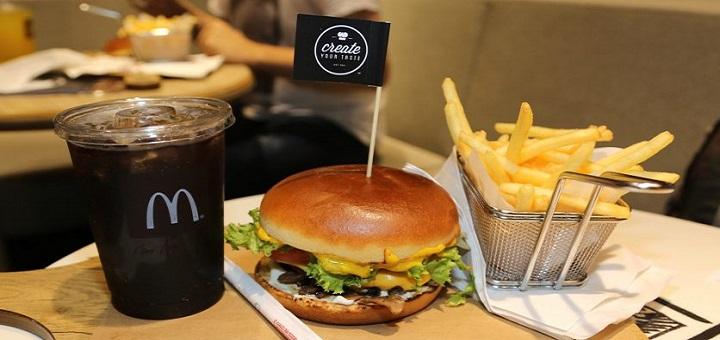 Stwórz swojego burgera w McDonald's