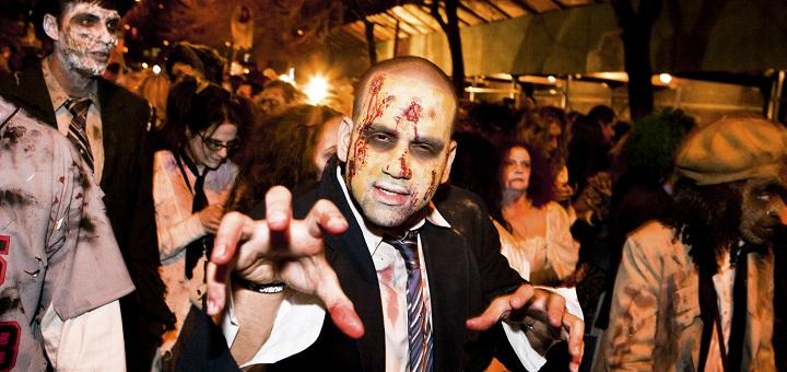 Cztery przebierane imprezy halloweenowe