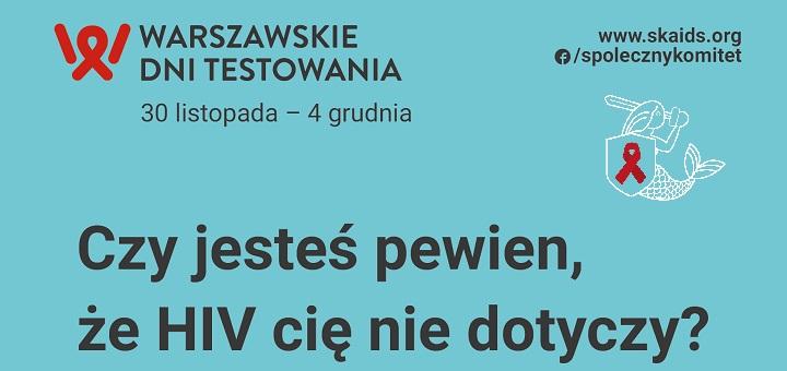 Światowy dzień walki z AIDS i darmowe badania HIV