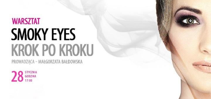 Smoky eyes - makijaż krok po kroku