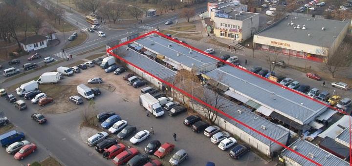 Zamykają bazar przy Trockiej bez nowej lokalizacji