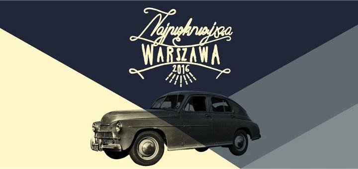 Najpiękniejsza Warszawa - zlot samochodów marki Warszawa i Syrena