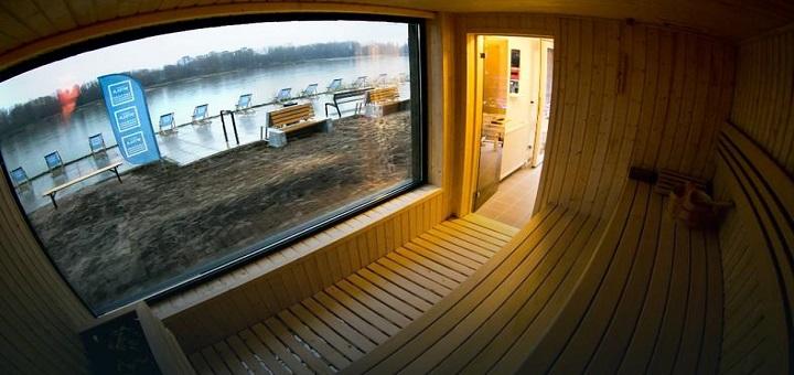 Mamy pierwszą w Polsce saunę w kontenerze nad Wisłą