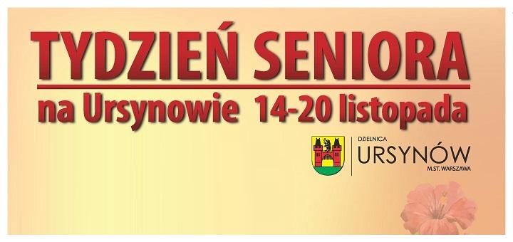 Tydzień Seniora na Ursynowie