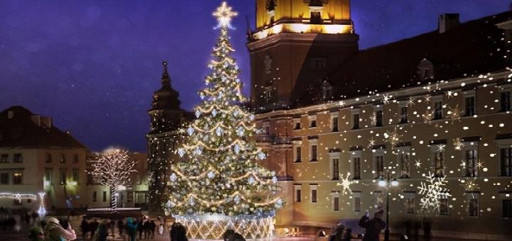 Wielka Iluminacja Świątecznej Warszawy tym razem bez koncertów