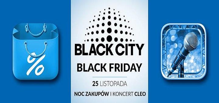 Noc zakupów i koncert Cleo w Blue City