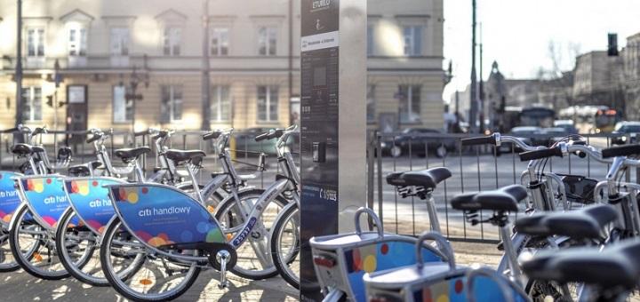 Już można jeździć rowerami Veturilo