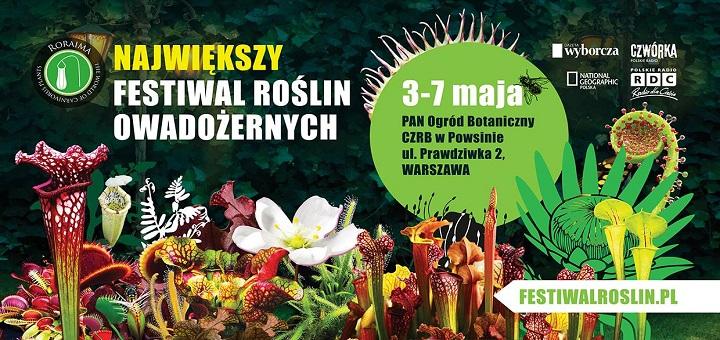 Festiwal Roślin Owadożernych 2017