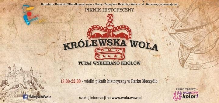 Wielki piknik historyczny w Parku Moczydło