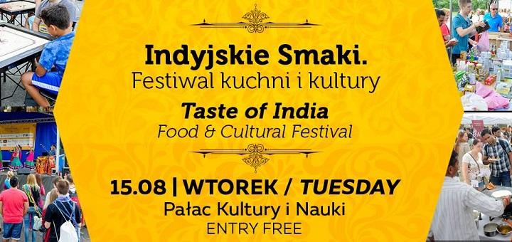 Indyjskie Smaki. Festiwal kuchni i kultury indyjskiej