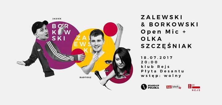 Zalewski & Borkowski Open Mic