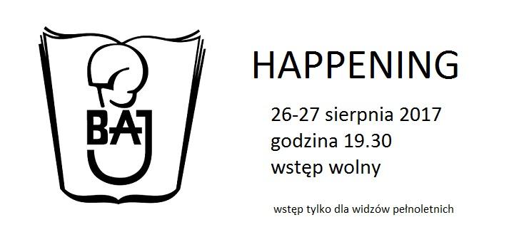 """""""Happening"""" w Teatrze Baj w weekend tylko dla dorosłych"""