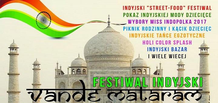 "Indyjski Festiwal ""Vande Mataram"" 2017"