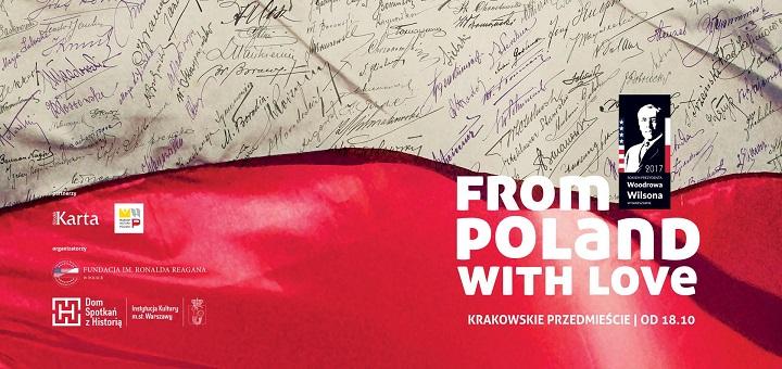 """Wystawa plenerowa """"From Poland With Love"""""""
