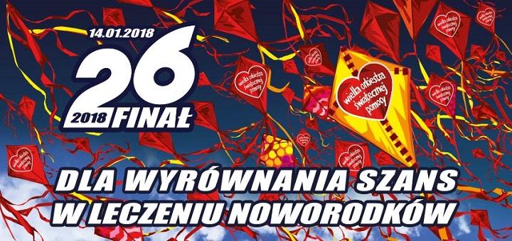 26. Finał WOŚP w Warszawie