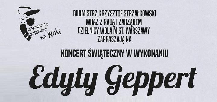 Koncert świąteczny Edyty Geppert
