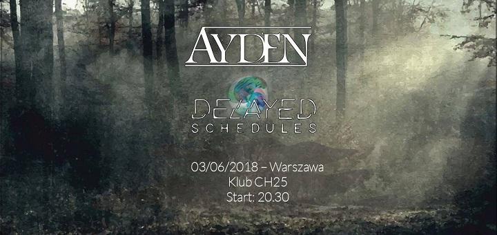 Koncert Ayden + Delayed Schedules