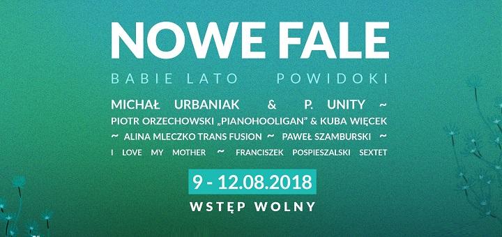 NOWE FALE 2018 - festiwal współczesnej muzyki jazzowej