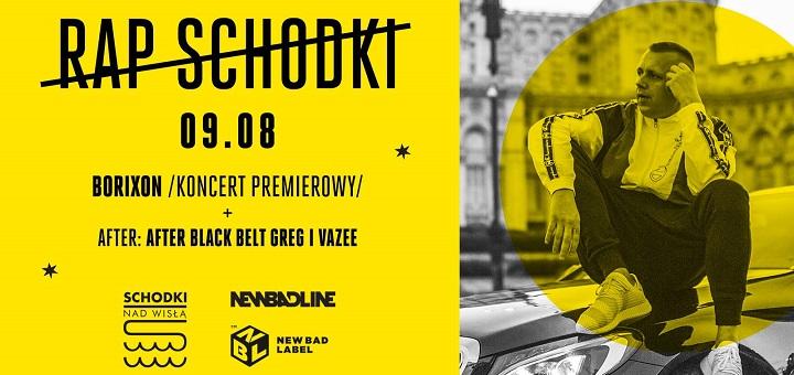 Rap Schodki #4 I Borixon